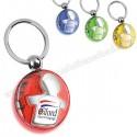 Toptan Erkek Çocuk Figürlü Anahtarlık Şeffaf Renkli Çift Taraflı AA1556-S