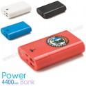 Toptan PowerBank 4400 mAh - 2 Çıkışlı - Fenerli APB3768