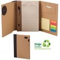 Toptan Geri Dönüşümlü Bloknot - Kalemli ve Renkli Yapışkan Notluklu AGD24163