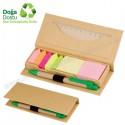 Toptan Geri Dönüşümlü Notluk Seti ve Renkli Yapışkan Notluklar AGD24129
