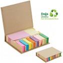 Toptan Geri Dönüşümlü Notluk Seti - Renkli Yapışkan Notluklu AGD24155