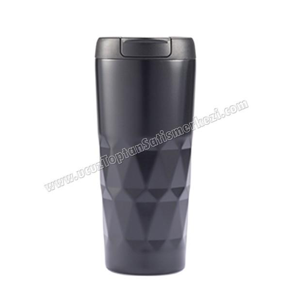 Toptan Kulpsuz Termos Bardak - Kupa - Mug 450 mL - Metal ATM21148