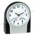 Toptan Masa Saati Termometreli ve Nem Ölçerli GMS223
