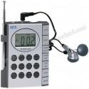 Toptan Mini Radyo Dijital Saatli ve Kulaklıklı GRD158