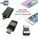 Toptan OTG Flash Bellek 16 GB - Android ve IOS Iphone OTG Özellikli AFB3257