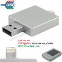 Toptan OTG Flash Bellek 16 GB - Iphone Ios Sürücülü AFB3311