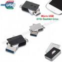 Toptan OTG Flash Bellek 16 GB - OTG Özellikli - Metal AFB3255