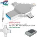 Toptan OTG Flash Bellek 32 GB - Ios, Type-C ve Mini Usb - USB 3,0 AFB3310