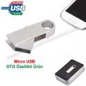 Toptan OTG Flash Bellek 8 GB - OTG Özellikli - Metal AFB3252