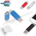 Toptan OTG Flash Bellek 8 GB - OTG Özellikli - Metal AFB3296-8