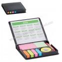 Toptan Yapışkan Notluk Seti 6 Renk Takvimli ve Kalemli AMG13208